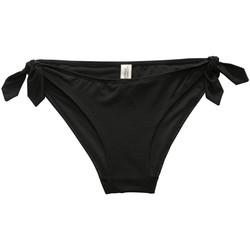 Textiel Dames Bikinibroekjes- en tops Underprotection RR2007 ALEXIA BIKINI BRIEF BLK Zwart