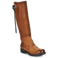 Schoenen Dames Hoge laarzen Airstep / A.S.98 SAINTEC HIGH Camel
