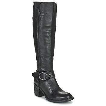 Schoenen Dames Hoge laarzen Airstep / A.S.98 JAMAL HIGH Zwart