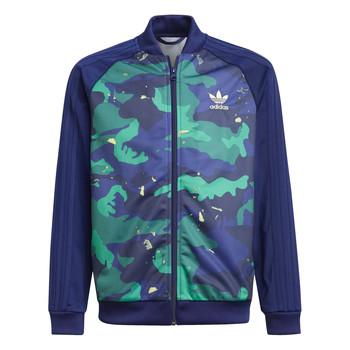 Textiel Jongens Trainings jassen adidas Originals HARRA Multicolour