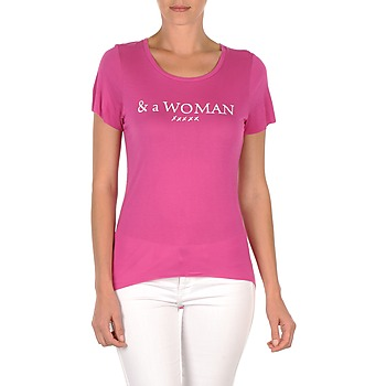Textiel Dames T-shirts korte mouwen School Rag TEMMY WOMAN Violet