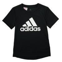 Textiel Jongens T-shirts korte mouwen adidas Performance NADGED Zwart