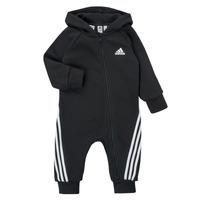 Textiel Kinderen Jumpsuites / Tuinbroeken adidas Performance TOMILA Zwart
