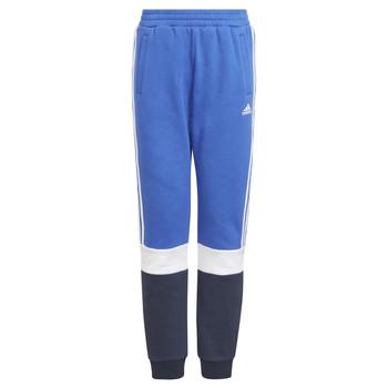Textiel Jongens Trainingsbroeken adidas Performance KATIA Marine / Zwart
