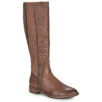 Schoenen Dames Hoge laarzen Mam'Zelle SAPA Bruin