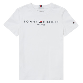 Textiel Jongens T-shirts korte mouwen Tommy Hilfiger SELINERA Wit