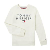 Textiel Jongens Sweaters / Sweatshirts Tommy Hilfiger HERTINA Wit