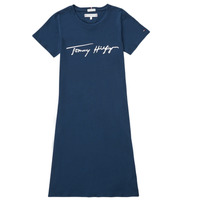 Textiel Meisjes Korte jurken Tommy Hilfiger POLINE Marine