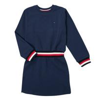 Textiel Meisjes Korte jurken Tommy Hilfiger ARNO Marine