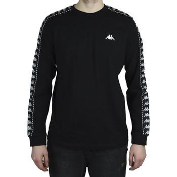 Textiel Heren T-shirts met lange mouwen Kappa Haimo Longsleeve Noir