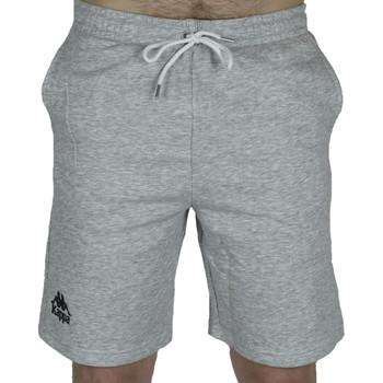 Textiel Heren Korte broeken / Bermuda's Kappa Topen Shorts Grise