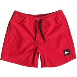Textiel Kinderen Zwembroeken/ Zwemshorts Quiksilver Everyday 13 EQBJV03042 Rood