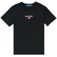 Textiel Jongens T-shirts korte mouwen Polo Ralph Lauren ANNITA Zwart