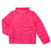 Textiel Meisjes Dons gevoerde jassen Polo Ralph Lauren PERTUN Roze