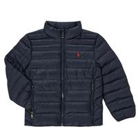 Textiel Meisjes Dons gevoerde jassen Polo Ralph Lauren PERTUN Marine