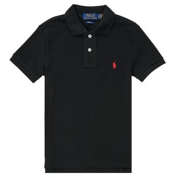 Textiel Jongens Polo's korte mouwen Polo Ralph Lauren HOULIA Zwart