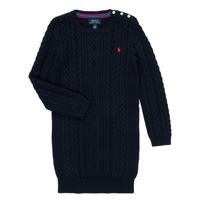 Textiel Meisjes Korte jurken Polo Ralph Lauren RURBE Marine