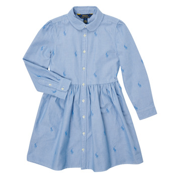 Textiel Meisjes Korte jurken Polo Ralph Lauren KATINA Blauw