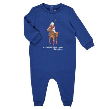 Textiel Jongens Jumpsuites / Tuinbroeken Polo Ralph Lauren KATRINA Marine
