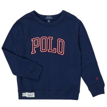 Textiel Jongens Sweaters / Sweatshirts Polo Ralph Lauren KAMILLAR Marine