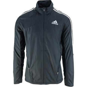 Textiel Heren Windjack adidas Originals Marathon 3 Stripes Zwart