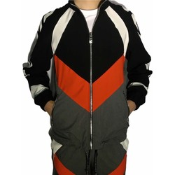 Textiel Heren Trainings jassen Richmond Sport UMP21044GBHB Grey/Red