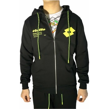 Textiel Heren Sweaters / Sweatshirts Lotto LTU259 Black