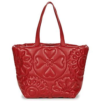 Tassen Dames Handtassen lang hengsel Desigual BIG BIG BOMBAY Rood