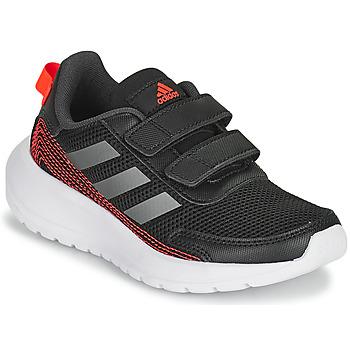 Adidas Performance Tensaur Run C sportschoenen zwart/grijs metalic/antraciet kids online kopen
