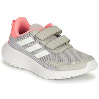 Schoenen Meisjes Running / trail adidas Performance TENSAUR RUN C Grijs / Roze