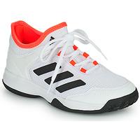 Schoenen Kinderen Tennis adidas Performance Ubersonic 4 k Wit / Rood