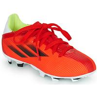 Schoenen Kinderen Voetbal adidas Performance X SPEEDFLOW.3 FG J Rood