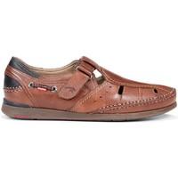 Schoenen Heren Sandalen / Open schoenen Fluchos HEREN SANDALEN  9882 TORNADO MARINER BROWN