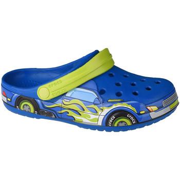 Schoenen Kinderen Klompen Crocs Fun Lab Truck Band Clog Bleu