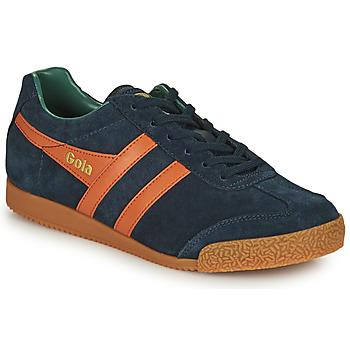 Schoenen Heren Lage sneakers Gola HARRIER Marine / Oranje