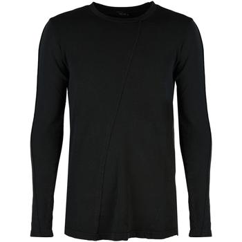Textiel Heren T-shirts met lange mouwen Xagon Man  Zwart