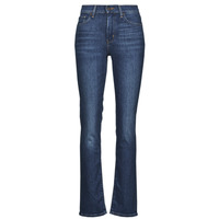 Textiel Dames Straight jeans Levi's 724 HIGH RISE STRAIGHT Blauw