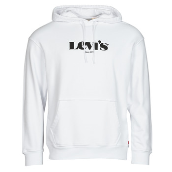 Textiel Heren Sweaters / Sweatshirts Levi's T2 RELAXED GRAPHIC PO Wit