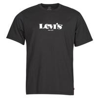 Textiel Heren T-shirts korte mouwen Levi's SS RELAXED FIT TEE Zwart