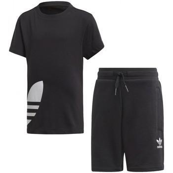 Textiel Jongens Trainingspakken adidas Originals  Zwart