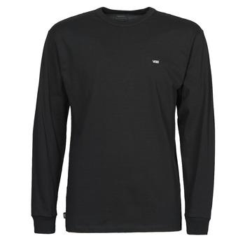 Textiel Heren T-shirts met lange mouwen Vans OFF THE WALL CLASSIC LS Zwart