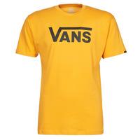 Textiel Heren T-shirts korte mouwen Vans VANS CLASSIC Geel / Zwart