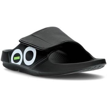 Schoenen slippers Oofos OOAHH SPORT 1550 ZWART
