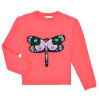 Textiel Meisjes Truien Billieblush VIANNE Roze