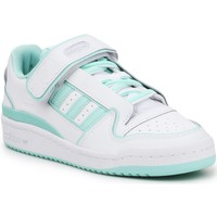 Schoenen Dames Lage sneakers adidas Originals Adidas Forum Plus W FY4529 white, green