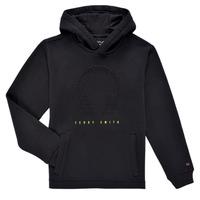 Textiel Jongens Sweaters / Sweatshirts Teddy Smith S-RUDY HOODY Zwart