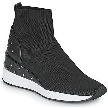 Schoenen Dames Hoge sneakers MICHAEL Michael Kors SKYLE Zwart