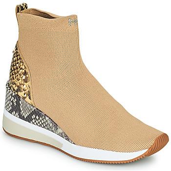 Schoenen Dames Hoge sneakers MICHAEL Michael Kors SKYLER Camel