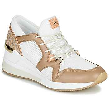 Schoenen Dames Lage sneakers MICHAEL Michael Kors LIV Camel / Wit
