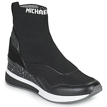 Schoenen Dames Hoge sneakers MICHAEL Michael Kors SWIFT Zwart